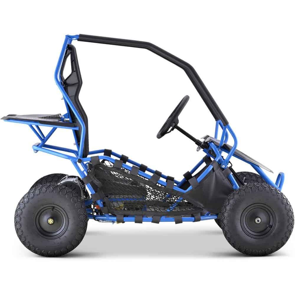 MotoTec Maverick Go Kart 36v 500w Blue_2