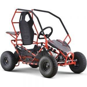 MotoTec Maverick Go Kart 36v 1000w Red