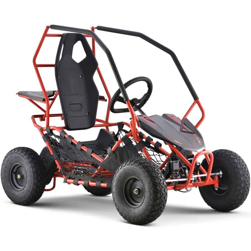 MotoTec Maverick Go Kart 36v 500w Red