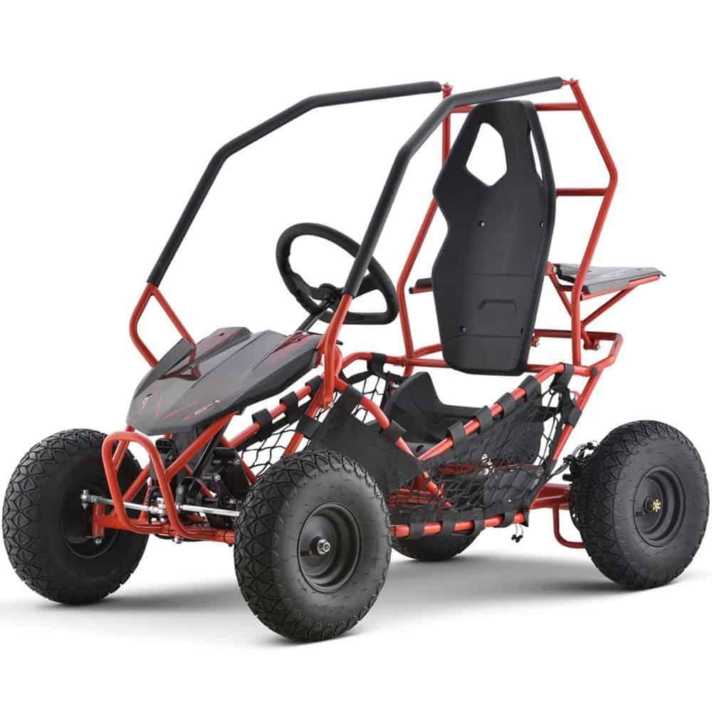 MotoTec Maverick Go Kart 36v 500w Red_2
