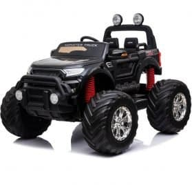 MotoTec Monster Truck 4x4 12v Black (2.4ghz)