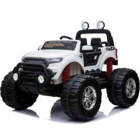 MotoTec Monster Truck 4x4 12v White (2.4ghz)