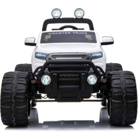 MotoTec Monster Truck 4x4 12v White (2.4ghz)_2