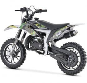 MotoTec 50cc Demon Kids Gas Dirt Bike Green_2