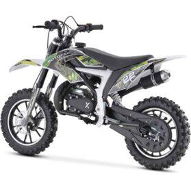 MotoTec 50cc Demon Kids Gas Dirt Bike Green_2