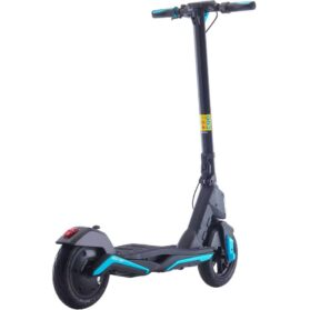 MotoTec Mad Air 36v 10ah 350w Lithium Electric Scooter Blue_5