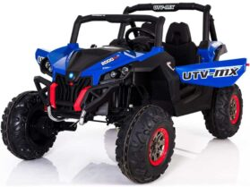 Mini Moto UTV 4x4 12v Blue (2.4ghz RC)