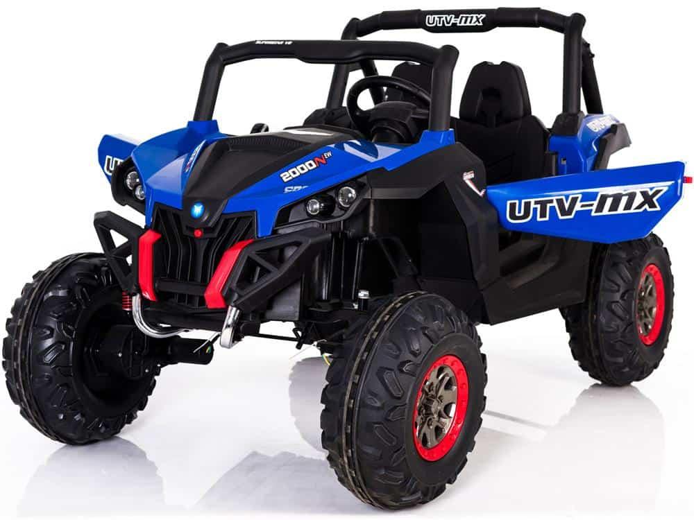 Mini Moto UTV 4x4 12v Blue (2.4ghz RC)