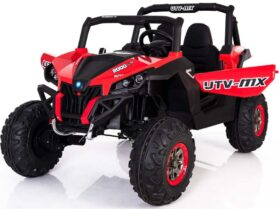 Mini Moto UTV 4x4 12v Red (2.4ghz RC)