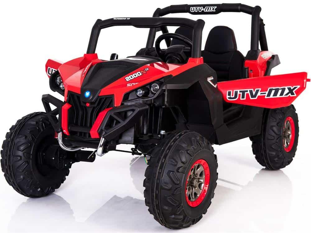 Mini Moto UTV 4x4 12v Red (2.4ghz RC)
