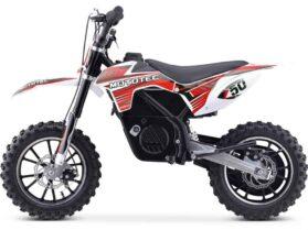 MotoTec 24v 500w Gazella Electric Dirt Bike Red_2