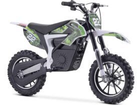 MotoTec 36v 500w Demon Electric Dirt Bike Lithium Green