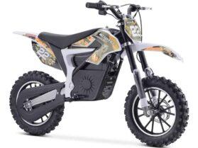 MotoTec 36v 500w Demon Electric Dirt Bike Lithium Orange