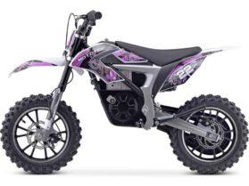 MotoTec 36v 500w Demon Electric Dirt Bike Lithium Purple_3
