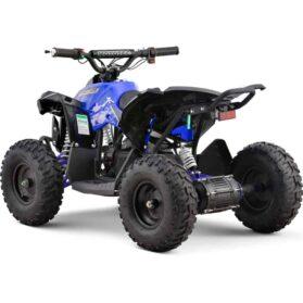 MotoTec 36v 500w Renegade Shaft Drive Kids ATV Blue_5
