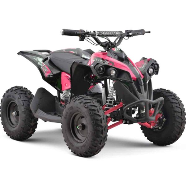 MotoTec 36v 500w Renegade Shaft Drive Kids ATV Pink