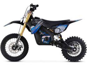 MotoTec 36v Pro Electric Dirt Bike 1000w Lithium Blue_4