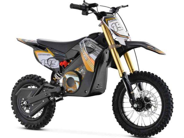 MotoTec 36v Pro Electric Dirt Bike 1000w Lithium Orange