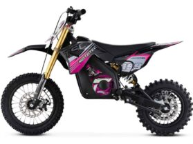 MotoTec 36v Pro Electric Dirt Bike 1000w Lithium Pink_4