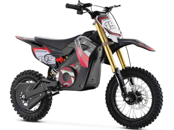 MotoTec 36v Pro Electric Dirt Bike 1000w Lithium Red