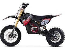 MotoTec 36v Pro Electric Dirt Bike 1000w Lithium Red_4