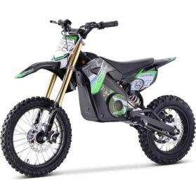 MotoTec 48v Pro Electric Dirt Bike 1500w Lithium Green_3