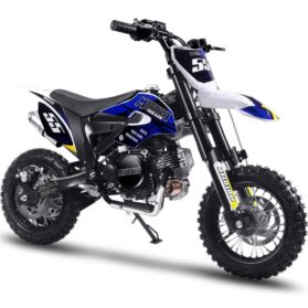 MotoTec Hooligan 60cc 4-Stroke Gas Dirt Bike Black