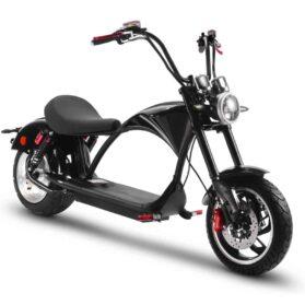 MotoTec Lowboy 60v 20ah 2500w Lithium Electric Scooter Black