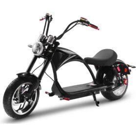 MotoTec Lowboy 60v 20ah 2500w Lithium Electric Scooter Black_2