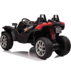 MotoTec Slingshot 12v Kids Car Black (2.4ghz RC)_2