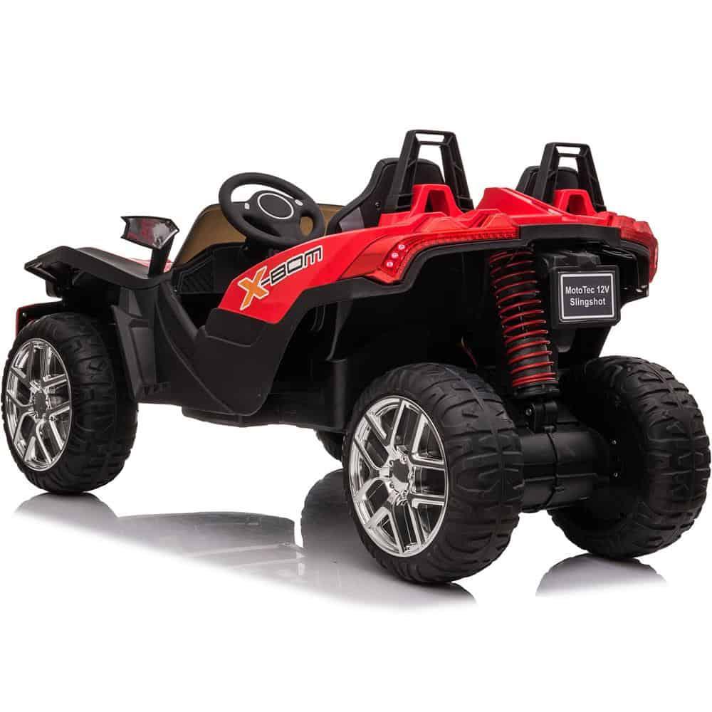 MotoTec Slingshot 12v Kids Car Red (2.4ghz RC)_4