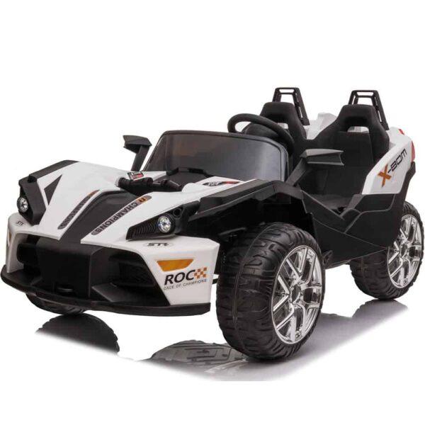 MotoTec Sling 12v Kids Car White(2.4ghz RC)