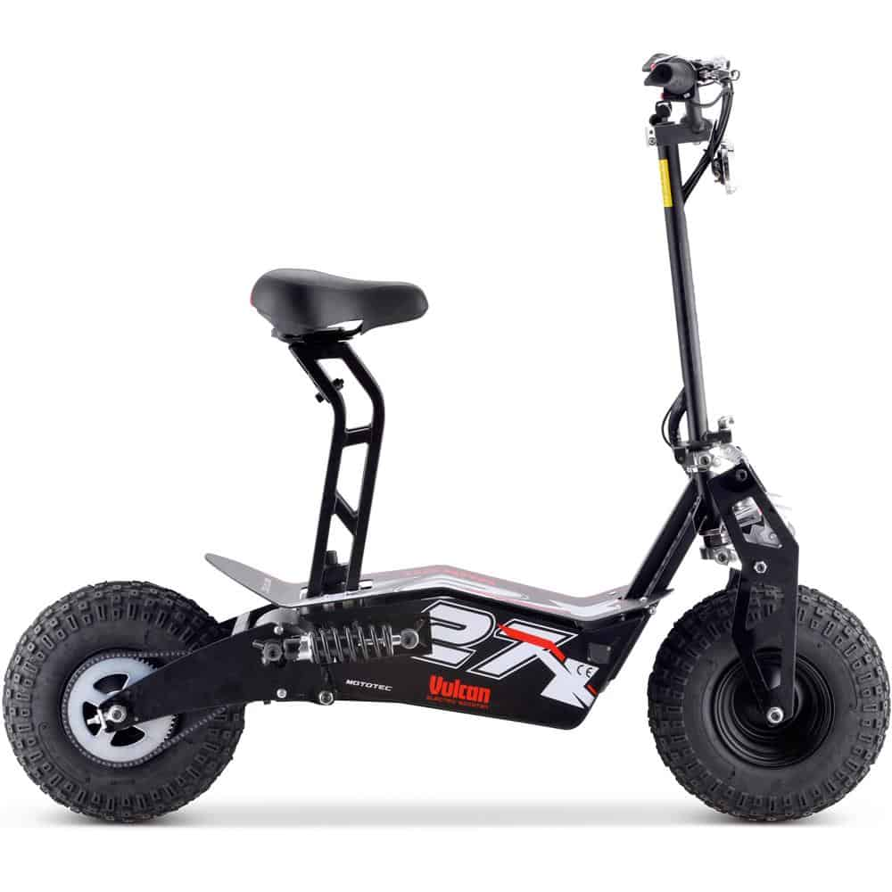 MotoTec Vulcan 48v 1600w Electric Scooter Black_3
