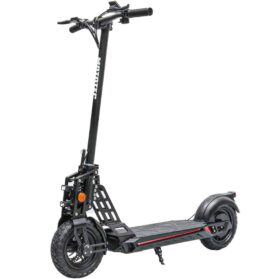 MotoTec Free Ride 48v 600w Lithium Electric Scooter Black
