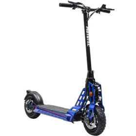 MotoTec Free Ride 48v 600w Lithium Electric Scooter Blue_2