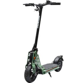 MotoTec Free Ride 48v 600w Lithium Electric Scooter Green