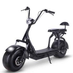 MotoTec Knockout 60v 1000w Electric Scooter Black_2