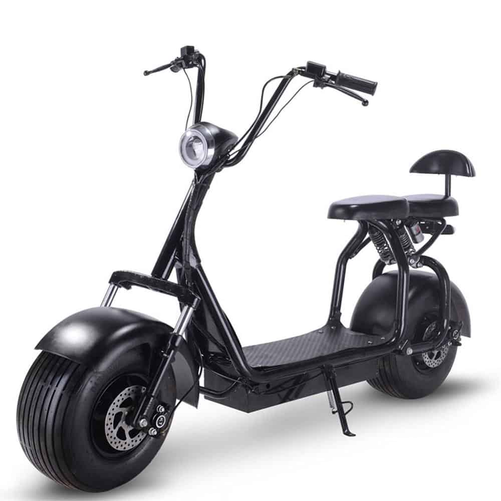 MotoTec Knockout 60v 1000w Electric Scooter Black_2