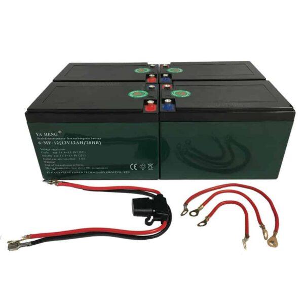 MotoTec 48v Battery Pack