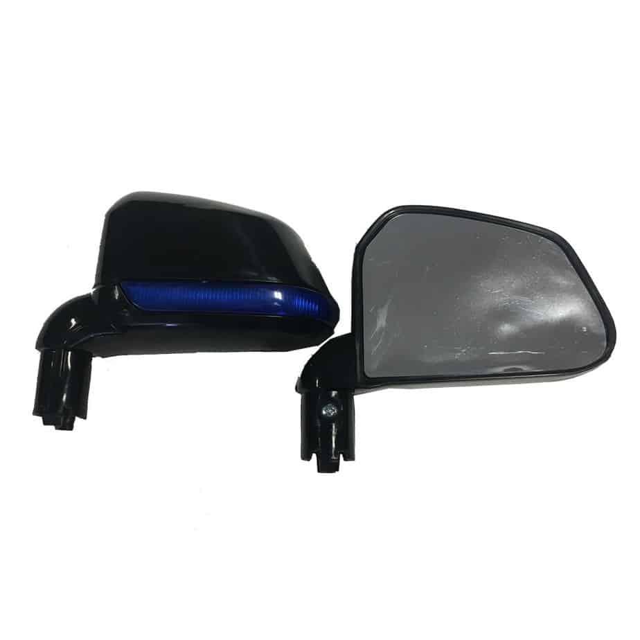 MotoTec Police Car Side Mirror Set