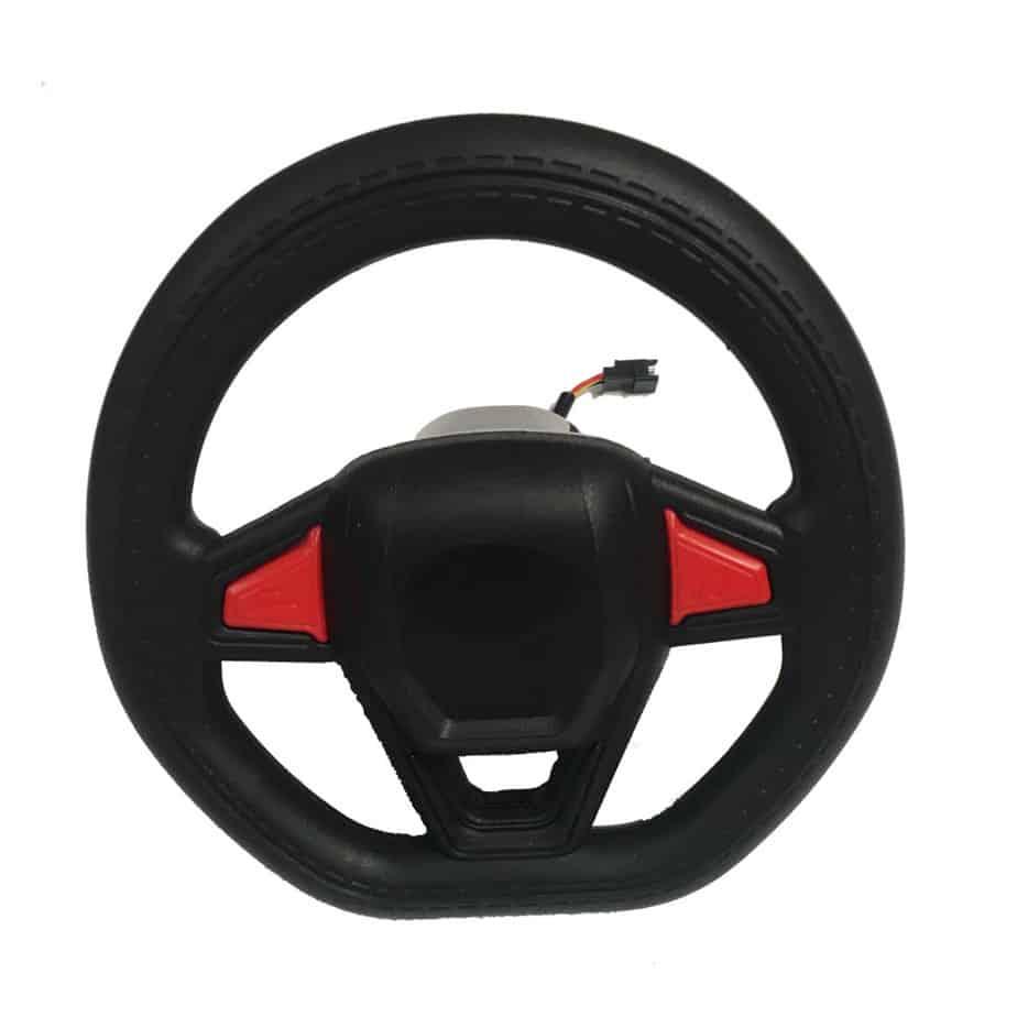 MotoTec Police Car Steering Wheel