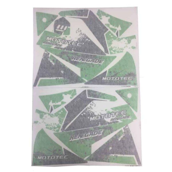 MotoTec Renegade Sticker Kit