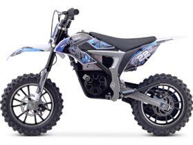 MotoTec 36v 500w Demon Electric Dirt Bike Lithium Blue_3
