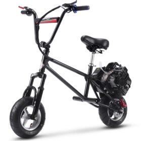 MotoTec 49cc Gas Mini Bike V2 Black_6