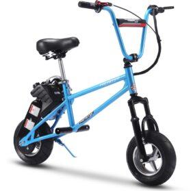 MotoTec 49cc Gas Mini Bike V2 Blue