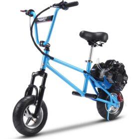 MotoTec 49cc Gas Mini Bike V2 Blue_6
