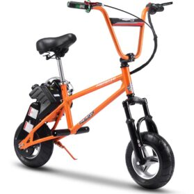 MotoTec 49cc Gas Mini Bike V2 Orange