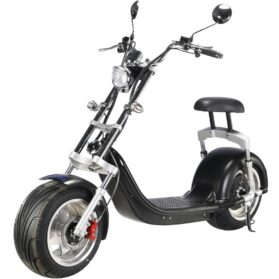 MotoTec Knockout 60v 2500w Lithium Electric Scooter Black_5