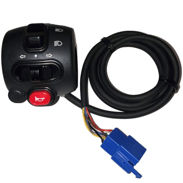 MotoTec Lowboy 60v 2500w Left Handlebar Control