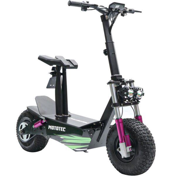 MotoTec Mars 48v 2500w Electric Scooter Black